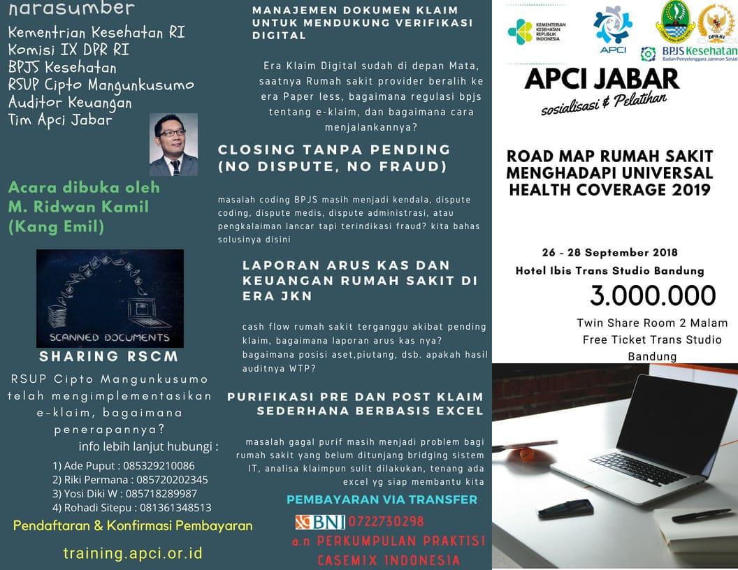 Roadmap Rumah Sakit Menghadapi Universal Health Coverage (UHC) 2019
